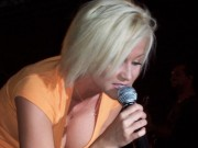 Kellie Pickler Performing at the Lawrence County Fair in Ohio on July 12, 2007